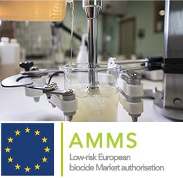 Grâce à son alternative unique et brevetée, Salveco est le premier titulaire d'AMMS pour l'acide lactique en Europe !